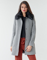 material Women coats Naf Naf AROUSSA Grey