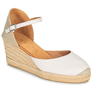 Shoes Women Sandals Unisa CACERES White