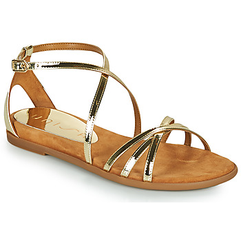 Shoes Women Sandals Unisa CACERES Gold