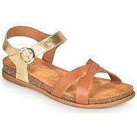 Shoes Women Sandals Unisa CINCEL Camel