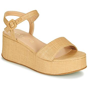 Shoes Women Sandals Unisa LAIKI Beige