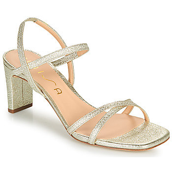 Shoes Women Sandals Unisa MONI Gold