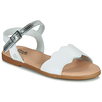 Shoes Girl Sandals Citrouille et Compagnie NEW 11 White