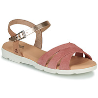 Shoes Girl Sandals Citrouille et Compagnie OBILOU Pink