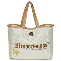 Bags Women Shopper bags Les Tropéziennes par M Belarbi PANAMA Beige