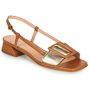 Shoes Women Sandals Fericelli PANILA Camel / Gold