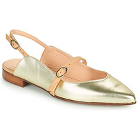 Shoes Women Ballerinas Fericelli SUSANNA Gold