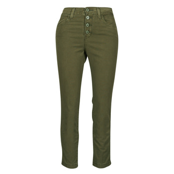material Women 5-pocket trousers Levi's SOFT CANVAS OLIVE NIGHT OD Kaki
