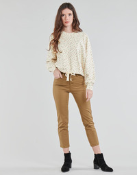 material Women 5-pocket trousers Levi's SOFT CANVAS TOASTED COCONUT OD Beige