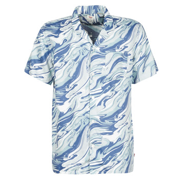 material Men short-sleeved shirts Levi's DIASPORE COLONY Blue