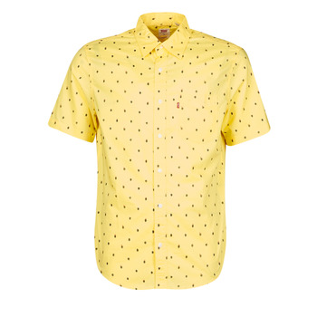 material Men short-sleeved shirts Levi's HACKMANITE DUSKY CITRON Yellow