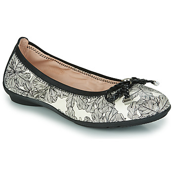 Shoes Women Ballerinas Hispanitas CAPRI Black / White