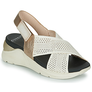 Shoes Women Sandals Hispanitas GALIA Beige / Gold