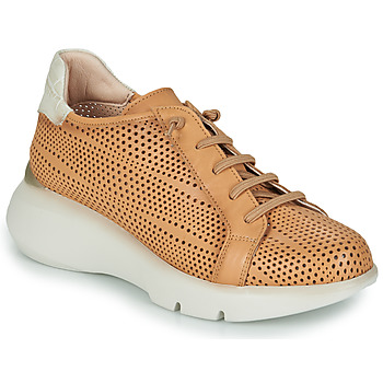 Shoes Women Low top trainers Hispanitas TELMA Camel / Beige