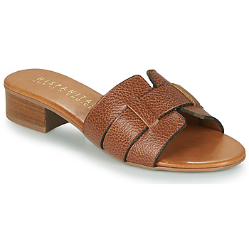 Shoes Women Mules Hispanitas LOLA Brown