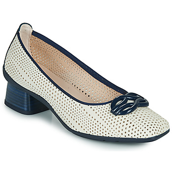 Shoes Women Court shoes Hispanitas FIONA White / Blue