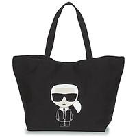 Bags Women Shopper bags Karl Lagerfeld K/IKONIK KARL TOTE Black