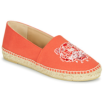 Shoes Women Espadrilles Kenzo CLASSIC TIGER Coral