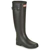 Shoes Women Wellington boots Hunter ORIGINAL REFINED Black