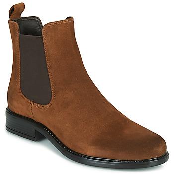 Shoes Women Mid boots Jonak ADELICE Camel