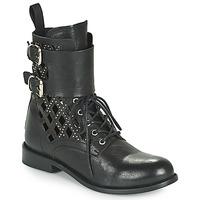 Shoes Women Mid boots Mimmu MONTONE NEROB Black