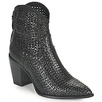 Shoes Women Ankle boots Mimmu INTRECCIO NERO Black