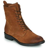 Shoes Women Mid boots Mjus PAL LACE Camel