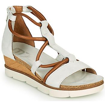 Shoes Women Sandals Mjus TAPASITA White / Camel