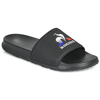 Shoes Men Sliders Le Coq Sportif SLIDE LOGO Black