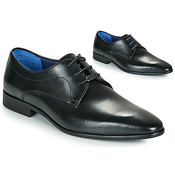Shoes Men Derby shoes Azzaro VILLAGE Black
