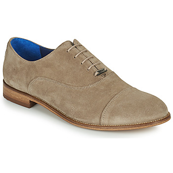 Shoes Men Brogue shoes Azzaro YAVAN Taupe