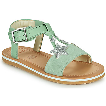 Shoes Girl Sandals Clarks FINCH SUMMER K Green