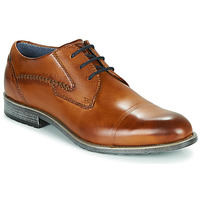 Shoes Men Derby shoes Bugatti LOTUS Camel