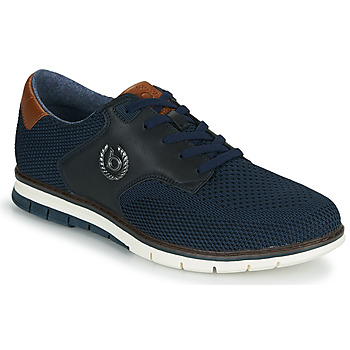 Shoes Men Low top trainers Bugatti SANDMAN Marine