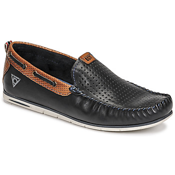 Shoes Men Loafers Bugatti CHESLEY Marine