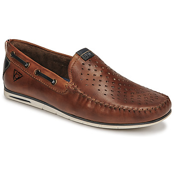 Shoes Men Loafers Bugatti CHESLEY Brown