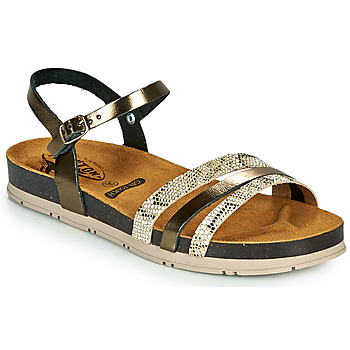 Shoes Women Sandals Plakton GREEN Bronze