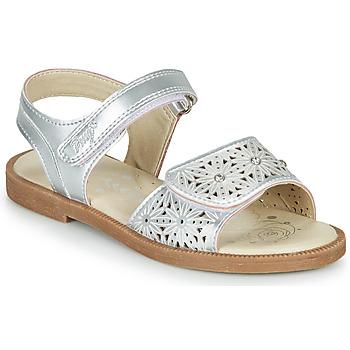 Shoes Girl Sandals Primigi MICHELLE Silver