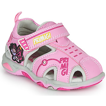 Shoes Girl Sports sandals Primigi SOLAL Pink