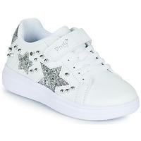 Shoes Girl Low top trainers Primigi NOLLA White / Silver
