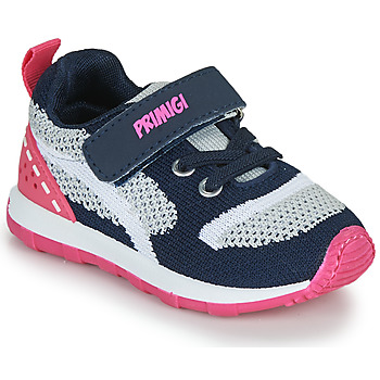 Shoes Girl Low top trainers Primigi ELLA Marine / Pink