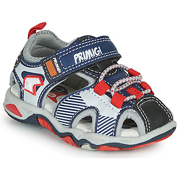 Shoes Boy Sports sandals Primigi HIMAN Grey / Blue / Red