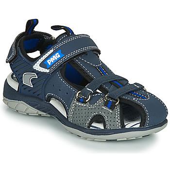 Shoes Boy Sports sandals Primigi SIXTINE Marine / Grey