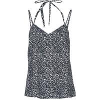 material Women Tops / Sleeveless T-shirts Ikks BS11015-02 Black