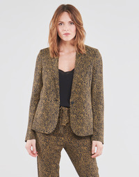material Women Jackets / Blazers Ikks BS40145-75 Brown