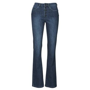 material Women bootcut jeans Ikks BS29135-45 Night / Blue