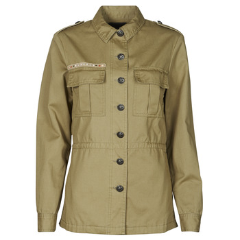 material Women Jackets / Blazers Ikks BS41045-55 Green / Pacific