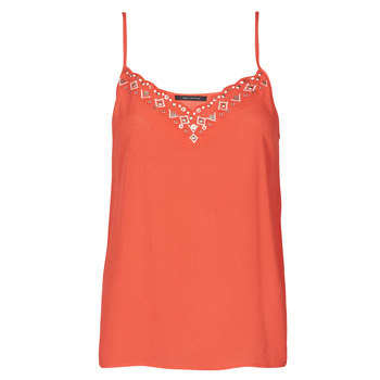 material Women Tops / Sleeveless T-shirts Ikks BS11195-36 Red