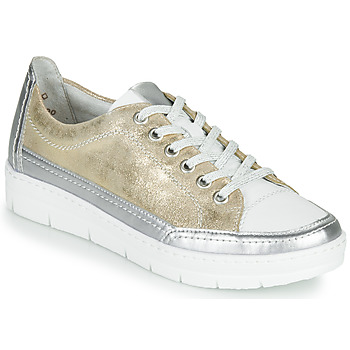 Shoes Women Low top trainers Remonte Dorndorf PHILLA Gold / Silver