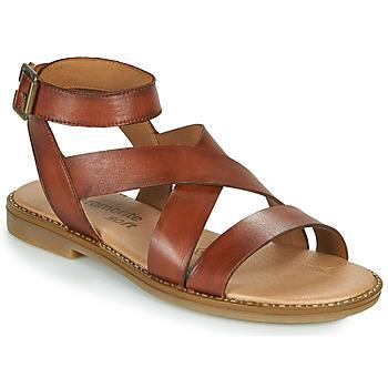 Shoes Women Sandals Remonte Dorndorf POLLY Brown